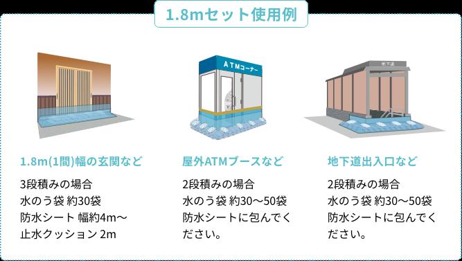 1.8mセット使用例